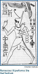 King Ramesses III